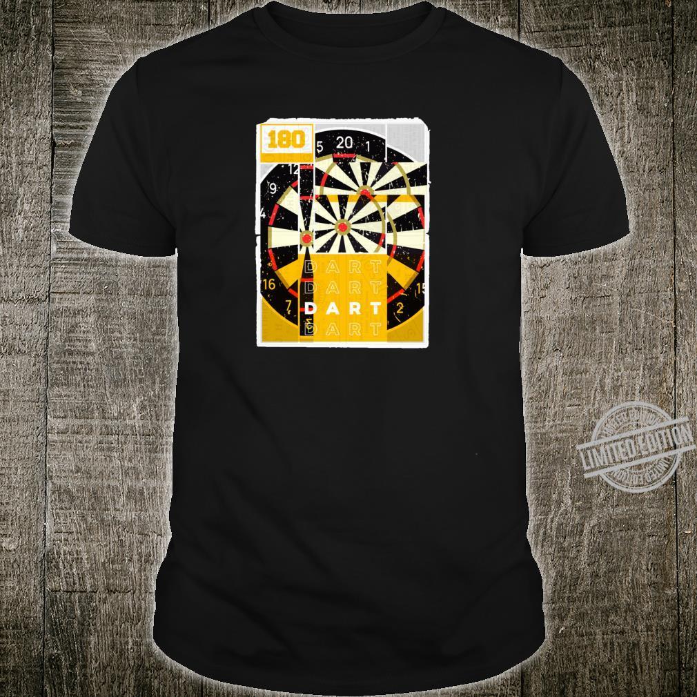 180 Dart Dartscheibe Dartpfeile Dartspieler Geschenk Dart Shirt
