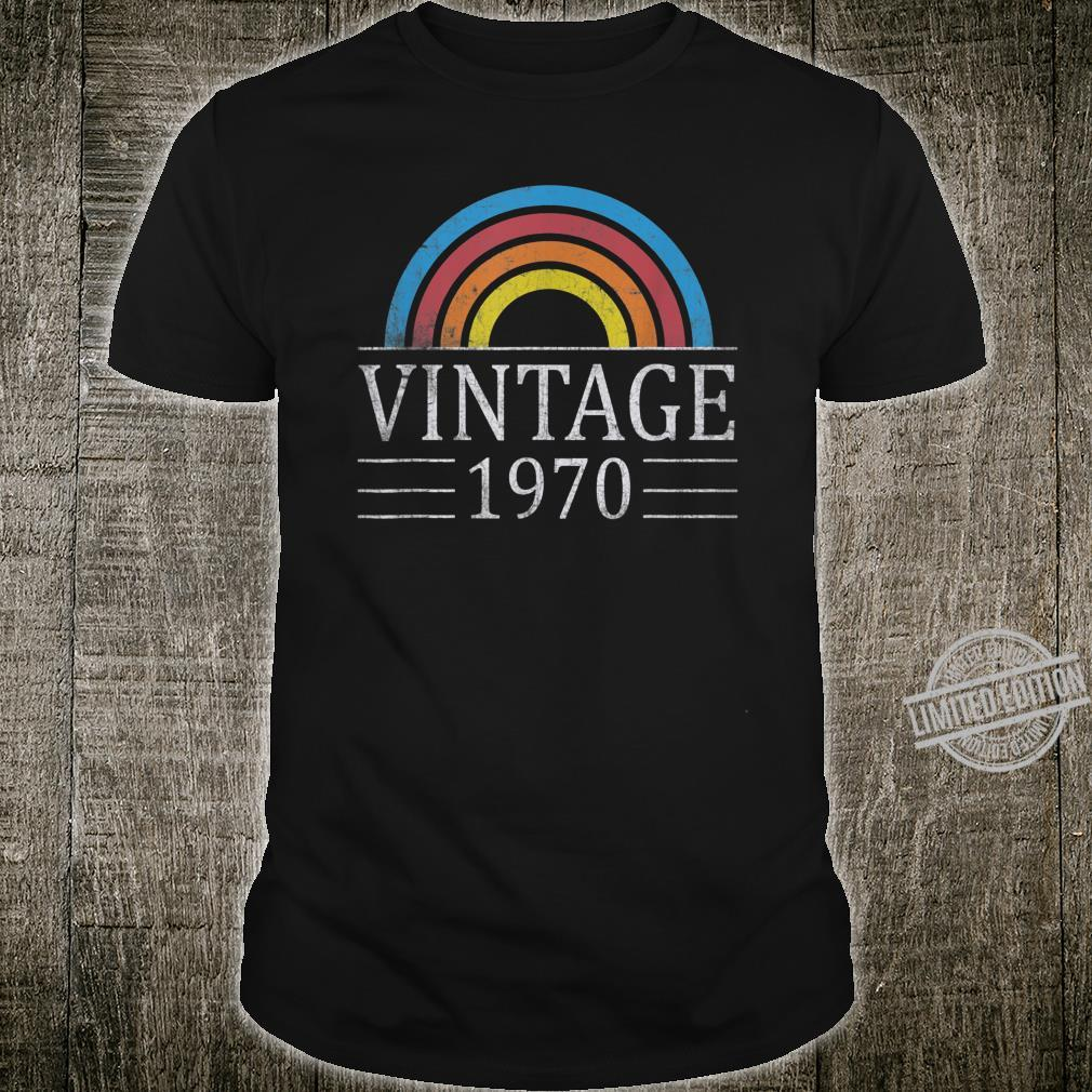 50th Vintage Classic 1970 Birthday 50 Years Old Shirt