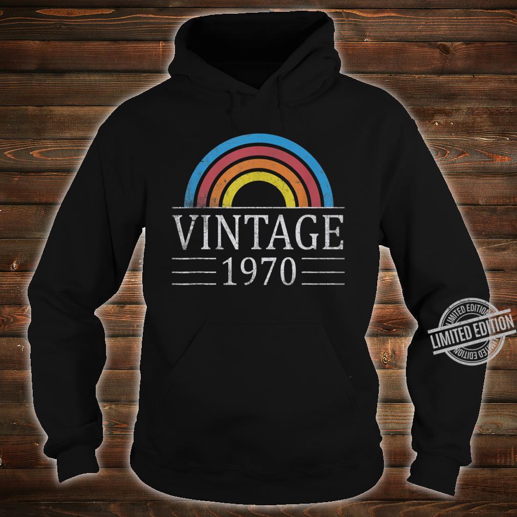 50th Vintage Classic 1970 Birthday 50 Years Old Shirt hoodie