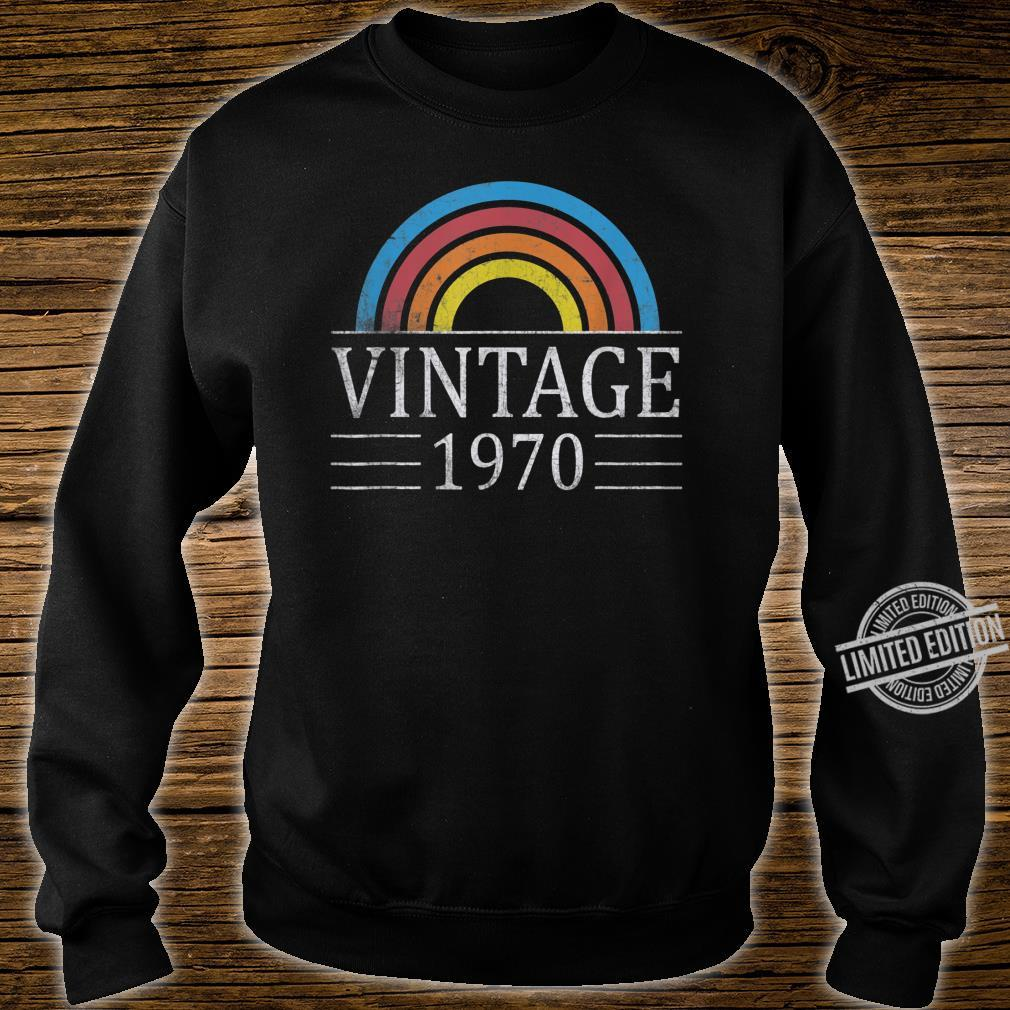 50th Vintage Classic 1970 Birthday 50 Years Old Shirt sweater