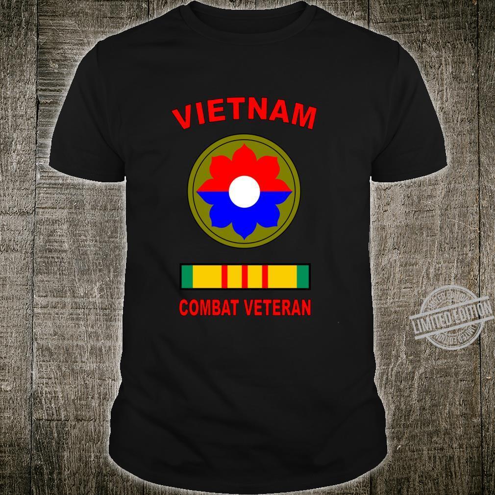 9th Infantry Division Old Reliables Vietnam Veteran Combat Shirt