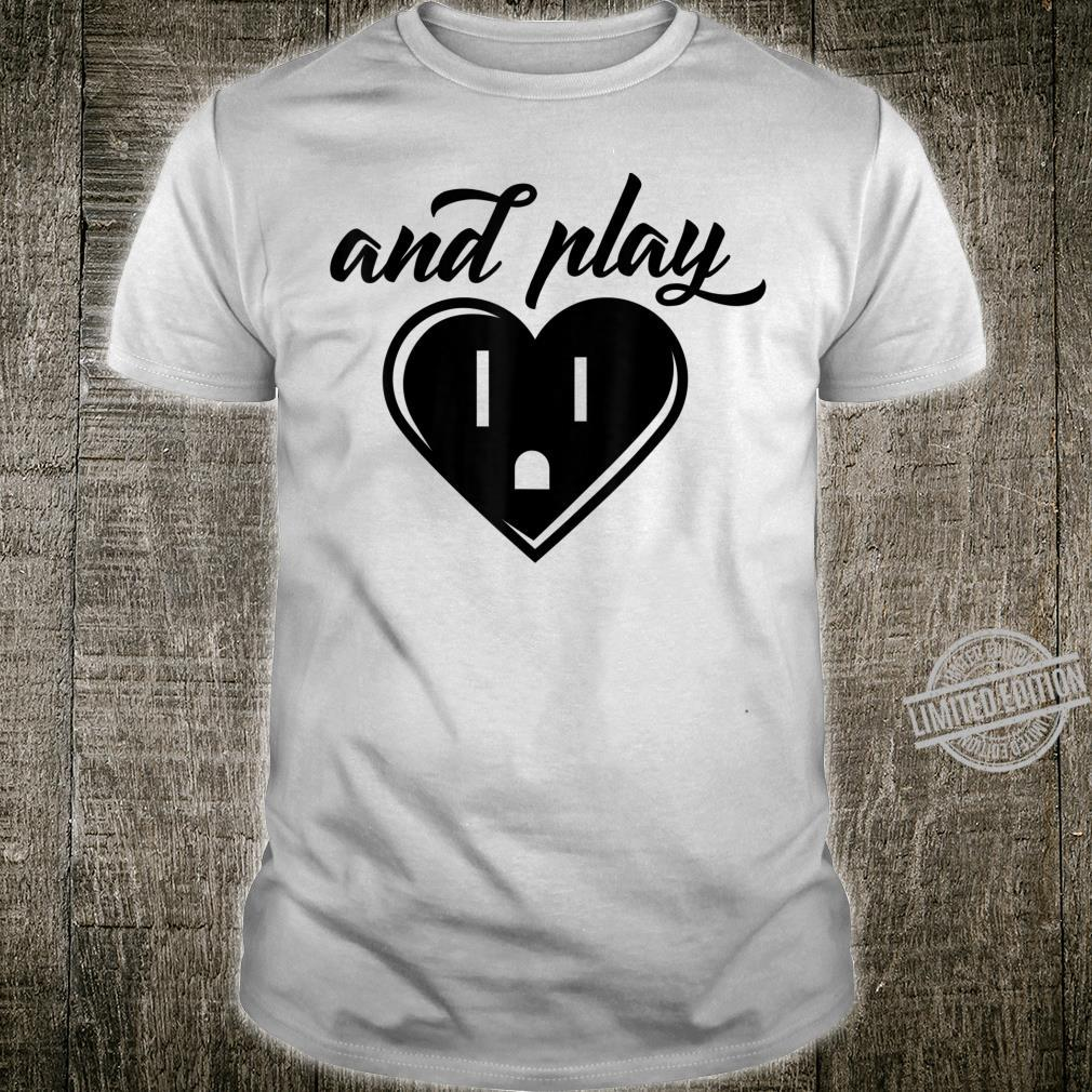 And Play Cool Match Couplet Video Gamer Shirt