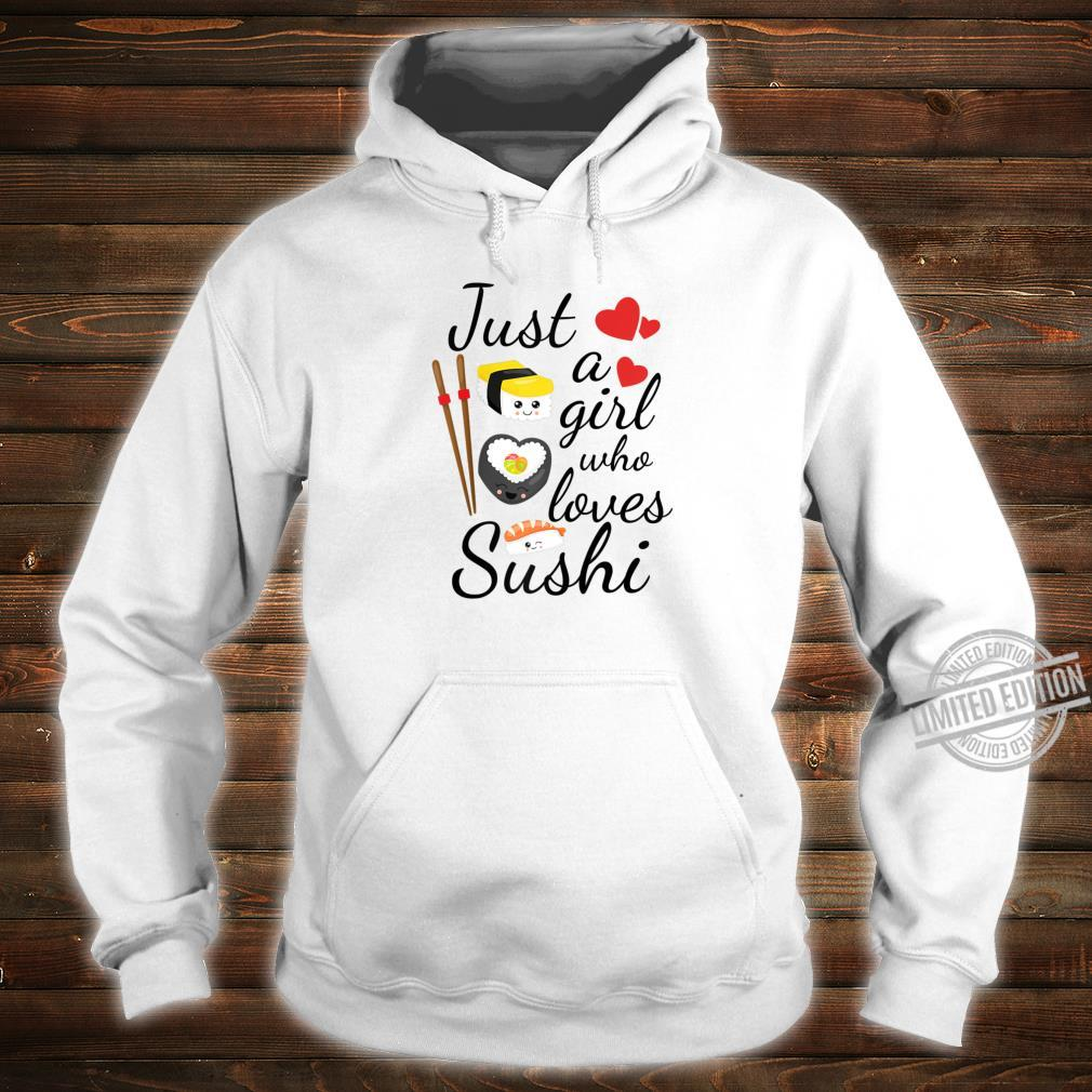 Anime Just A Girl Who Loves Sushi Cute Anime Style Shirt hoodie