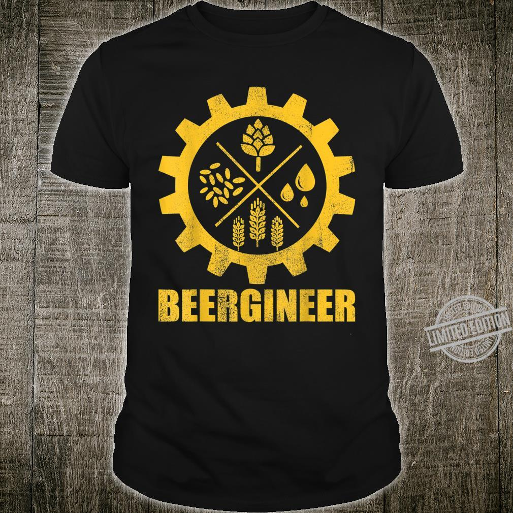 Beergineer Home Brewing Craft Beer Brewer Homebrewing Man Shirt