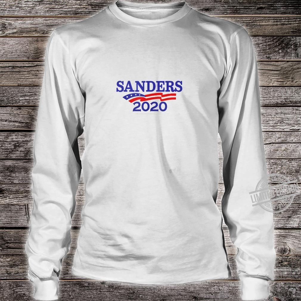Bernie Sanders For President 2020 Shirt long sleeved