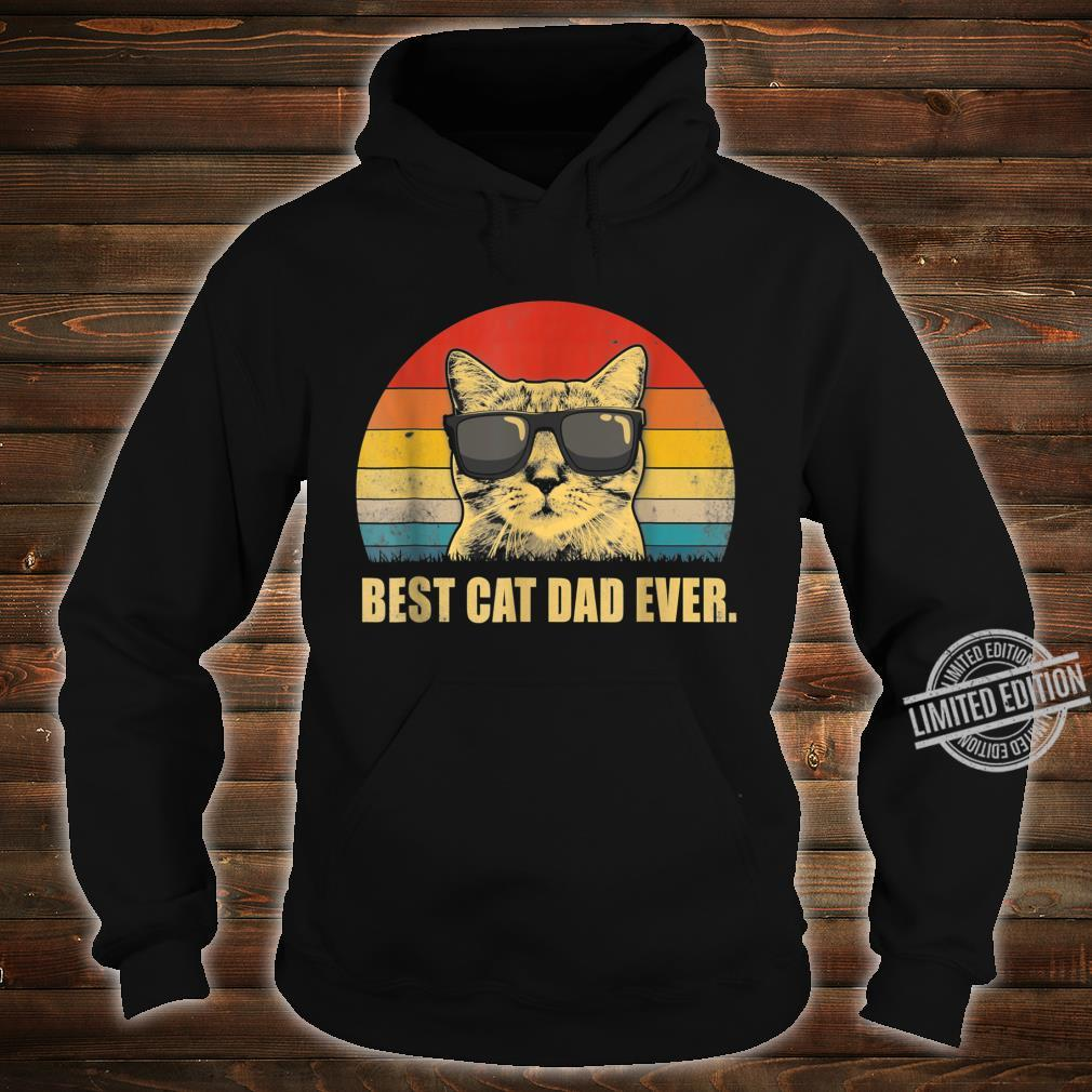 Best Cat Dad Ever Cat Dad Father day Vintage Shirt hoodie