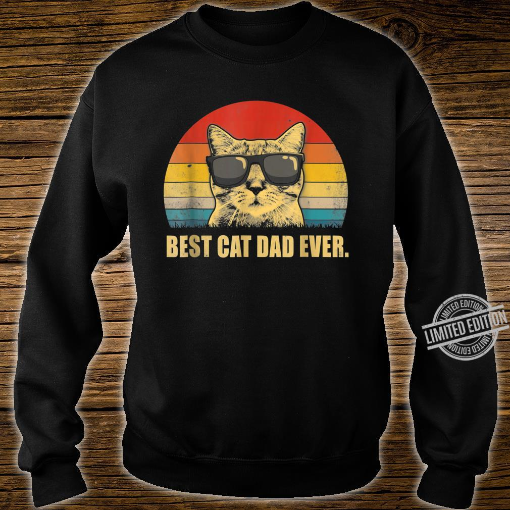Best Cat Dad Ever Cat Dad Father day Vintage Shirt sweater