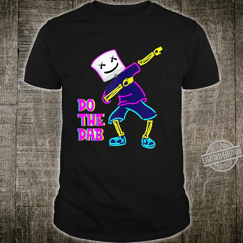 Best Dancing Dj With Goofy Marshmallow Face For Clubbing Shirt