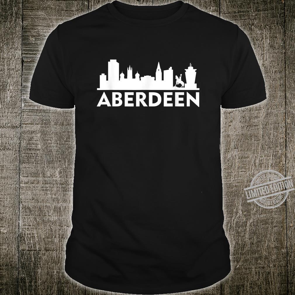 Birmingham Stadt Skyline Silhouette Shirt