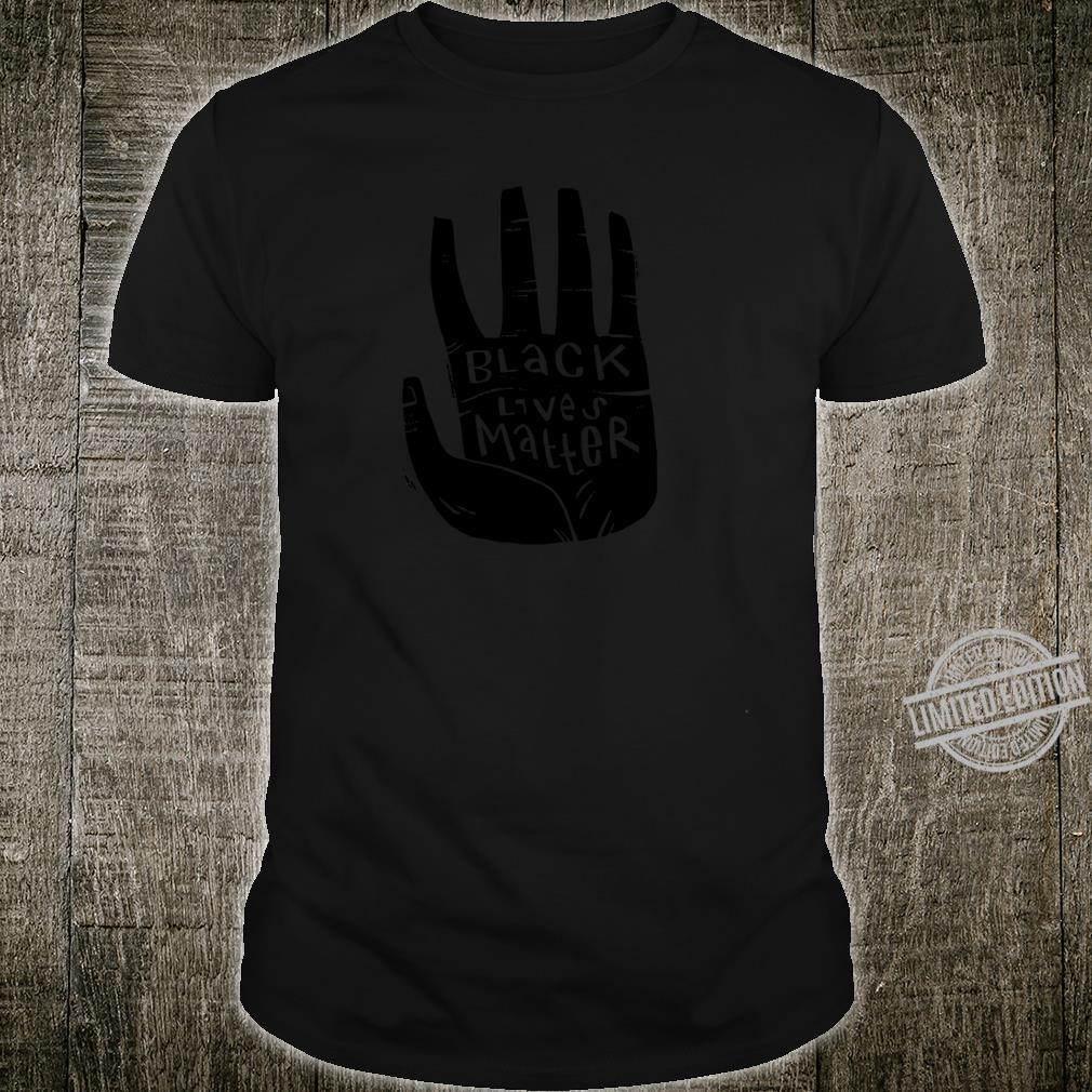 Black Lives Matter Schwarze Power Palm Shirt