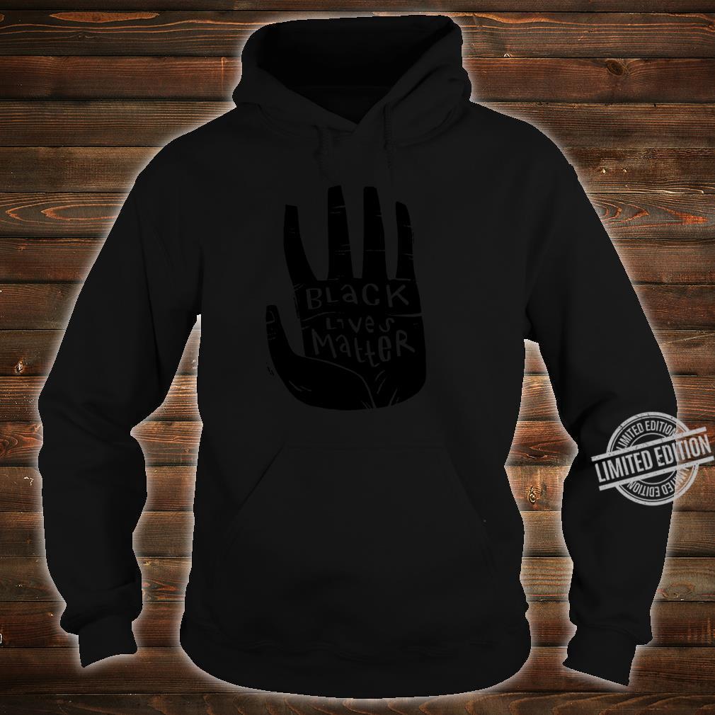 Black Lives Matter Schwarze Power Palm Shirt hoodie