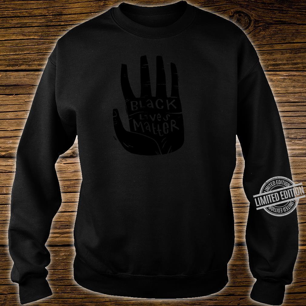 Black Lives Matter Schwarze Power Palm Shirt sweater