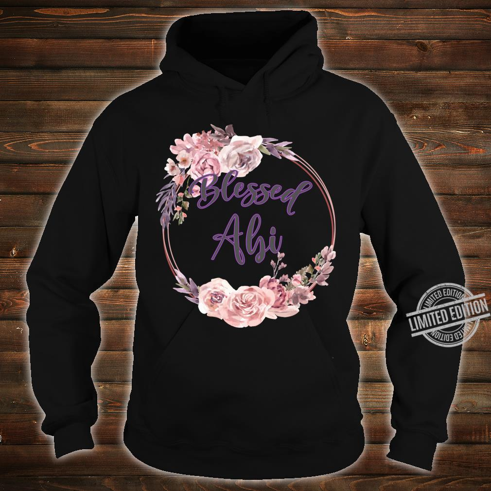 Blessed Abi Thanksgiving Mother and Wife Shirt hoodie