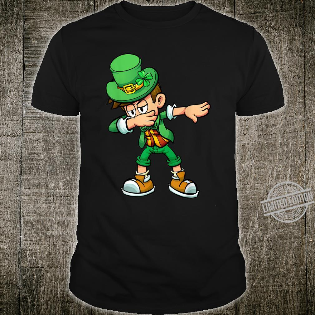 Boy Dabbing St Patricks Day Lucky Shamrock For Shirt