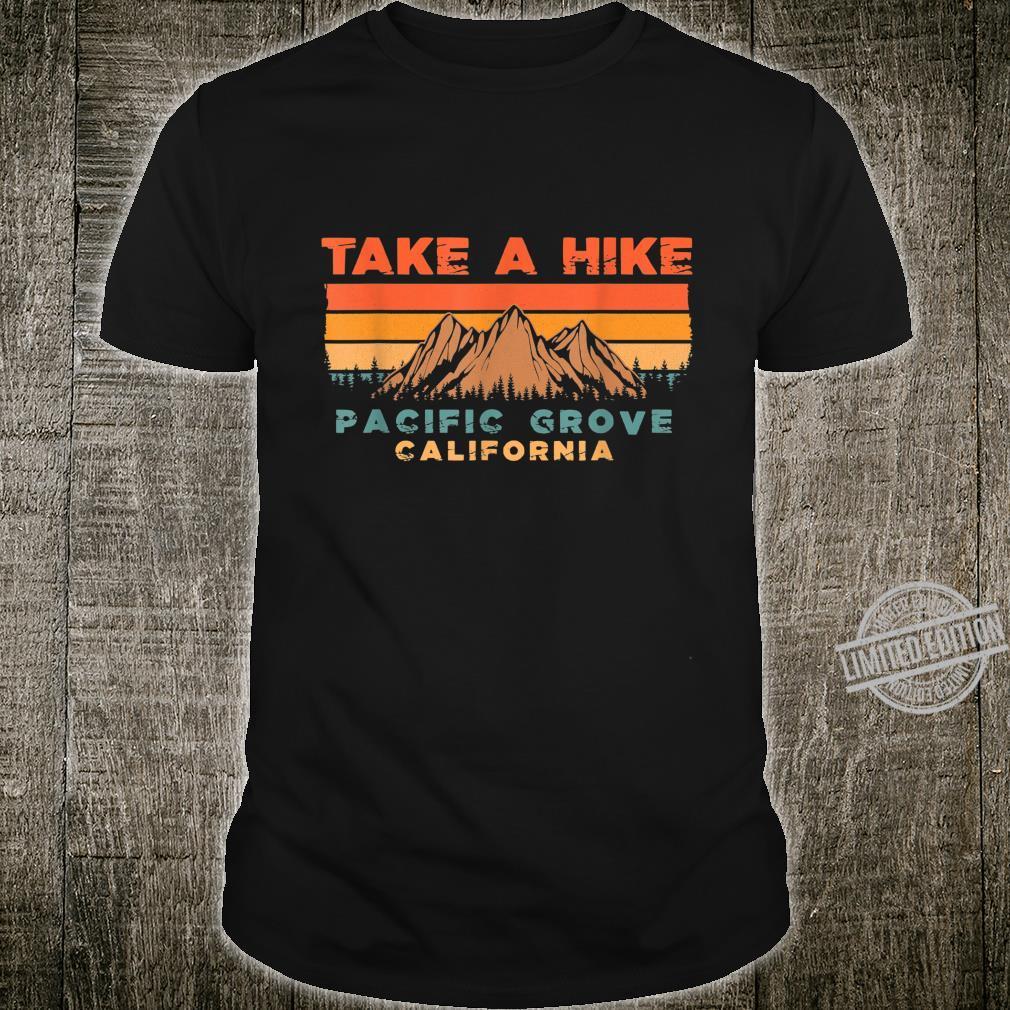 California Vintage Take A Hike Pacific Grove Moutain Shirt