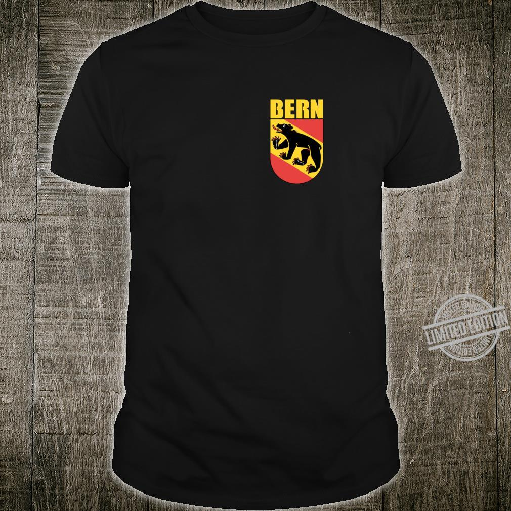 Coat Of Arms Of Bern Switzerland Souvenir Swiss City Of Bern Shirt