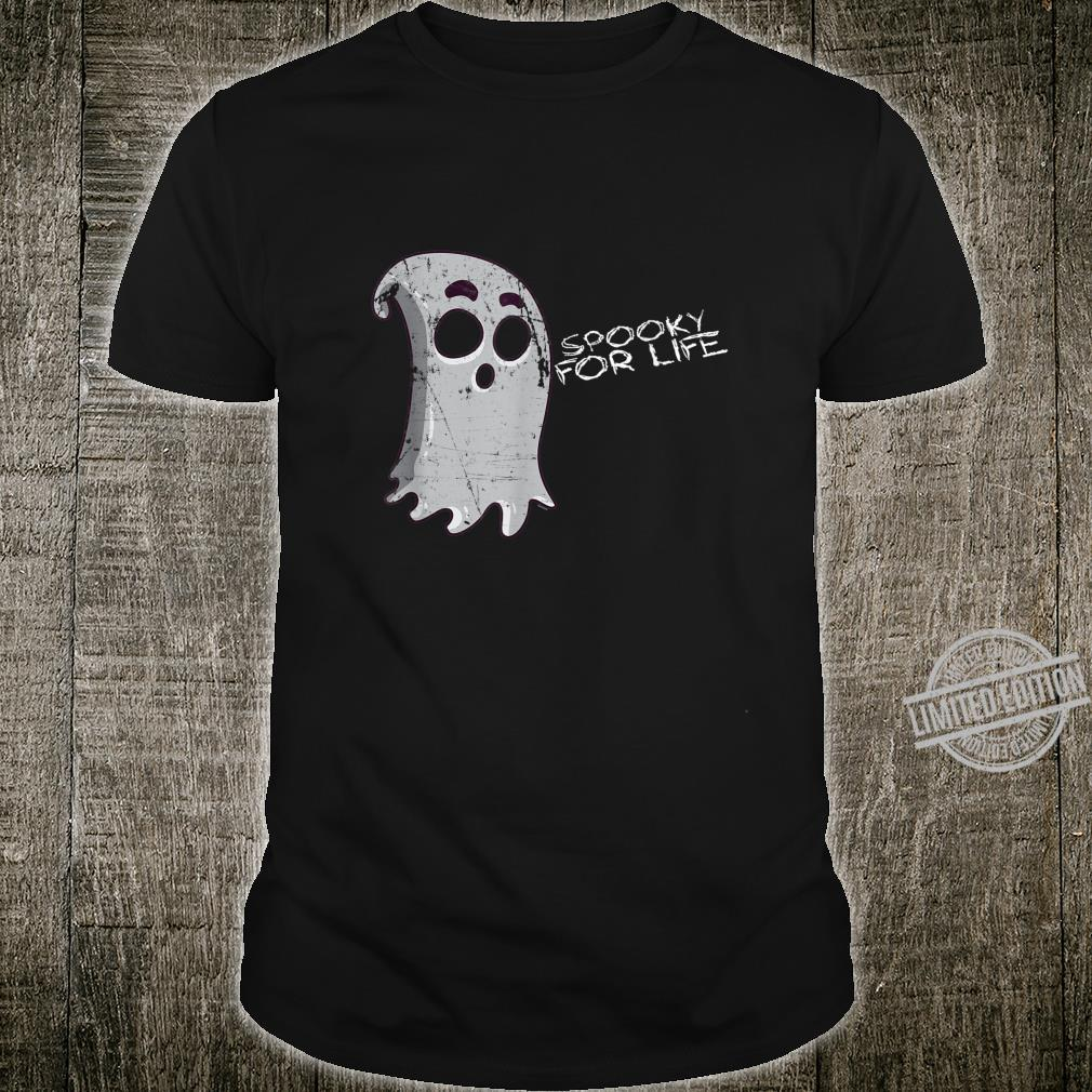 Cute Creepy Ghost Spooky For Life Halloween Trick Or Treat Shirt