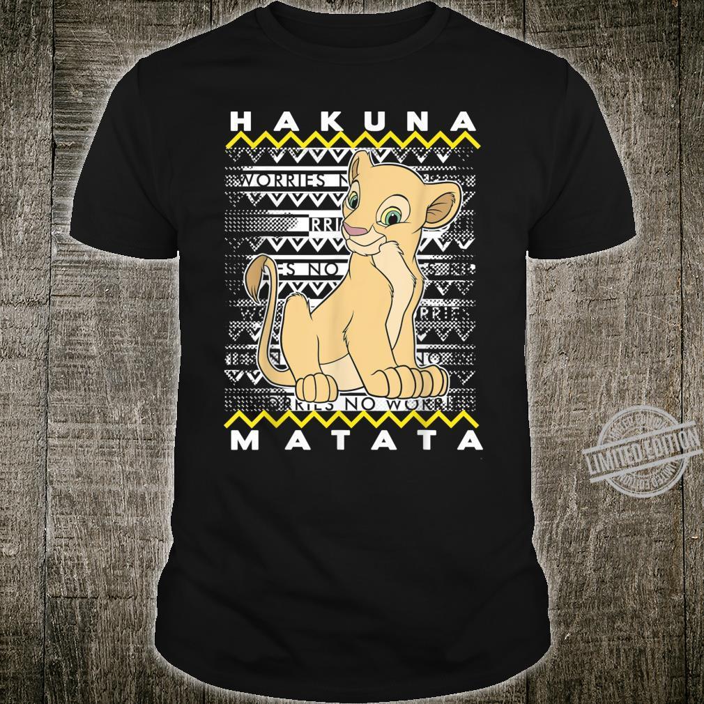 Disney The Lion King Nala Hakuna Matata Holiday Christmas Shirt