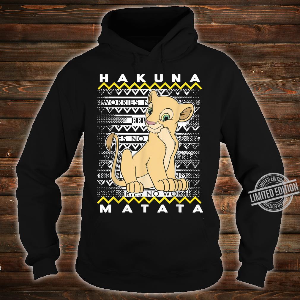 Disney The Lion King Nala Hakuna Matata Holiday Christmas Shirt hoodie