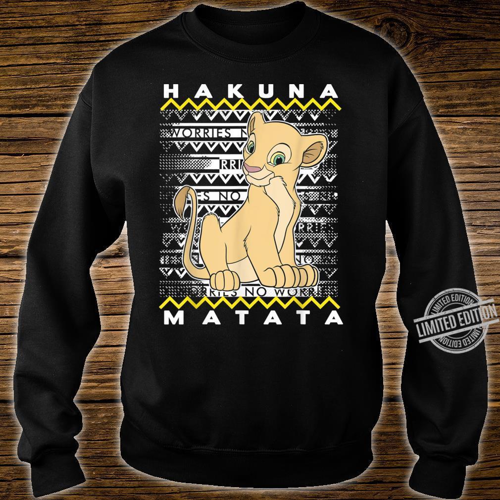 Disney The Lion King Nala Hakuna Matata Holiday Christmas Shirt sweater