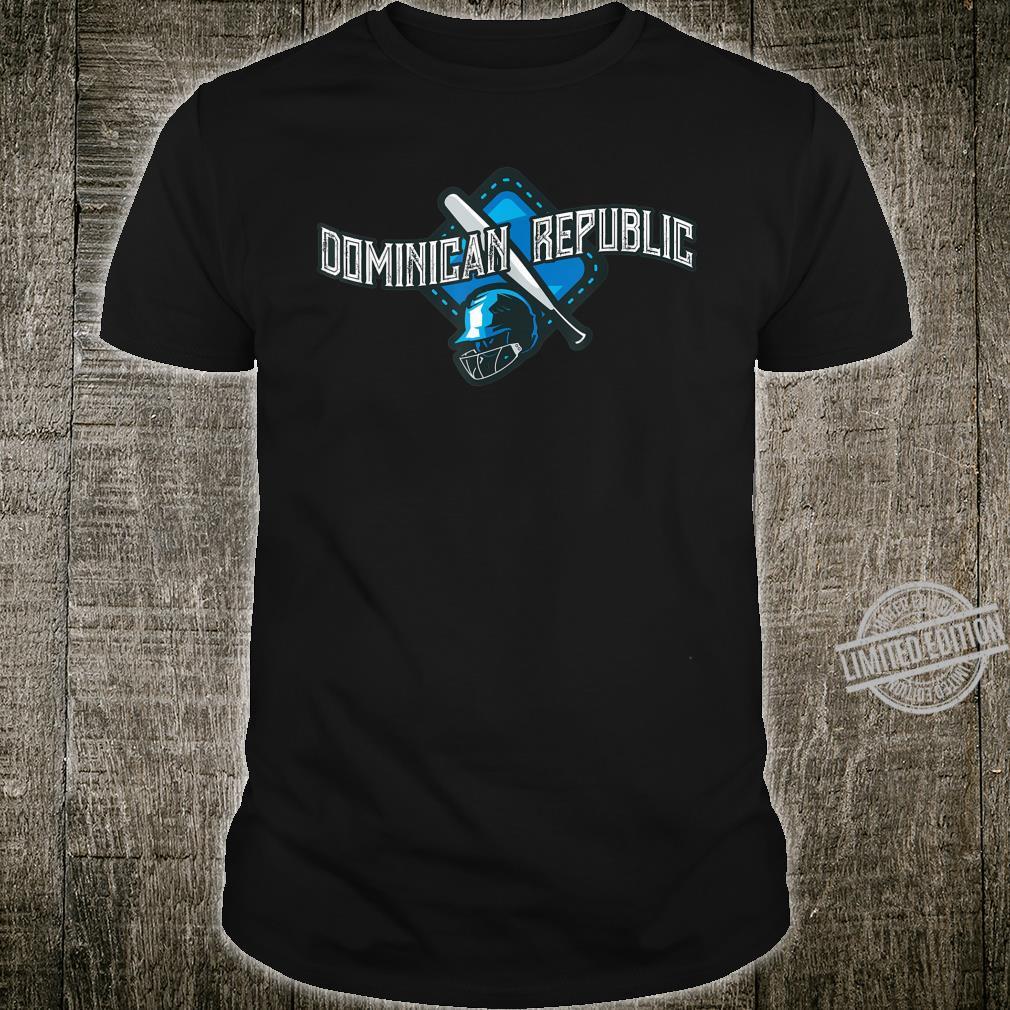 Dominican Republic Baseball Shirt