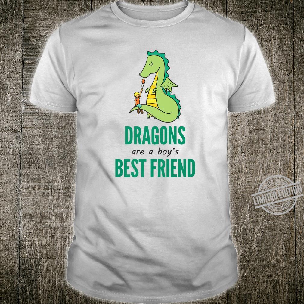 Dragons Are A Boy's Best Friend Novelty Shirt