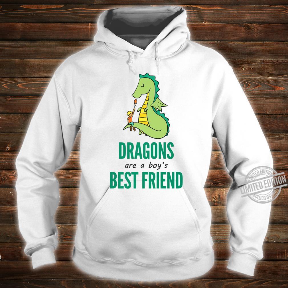 Dragons Are A Boy's Best Friend Novelty Shirt hoodie