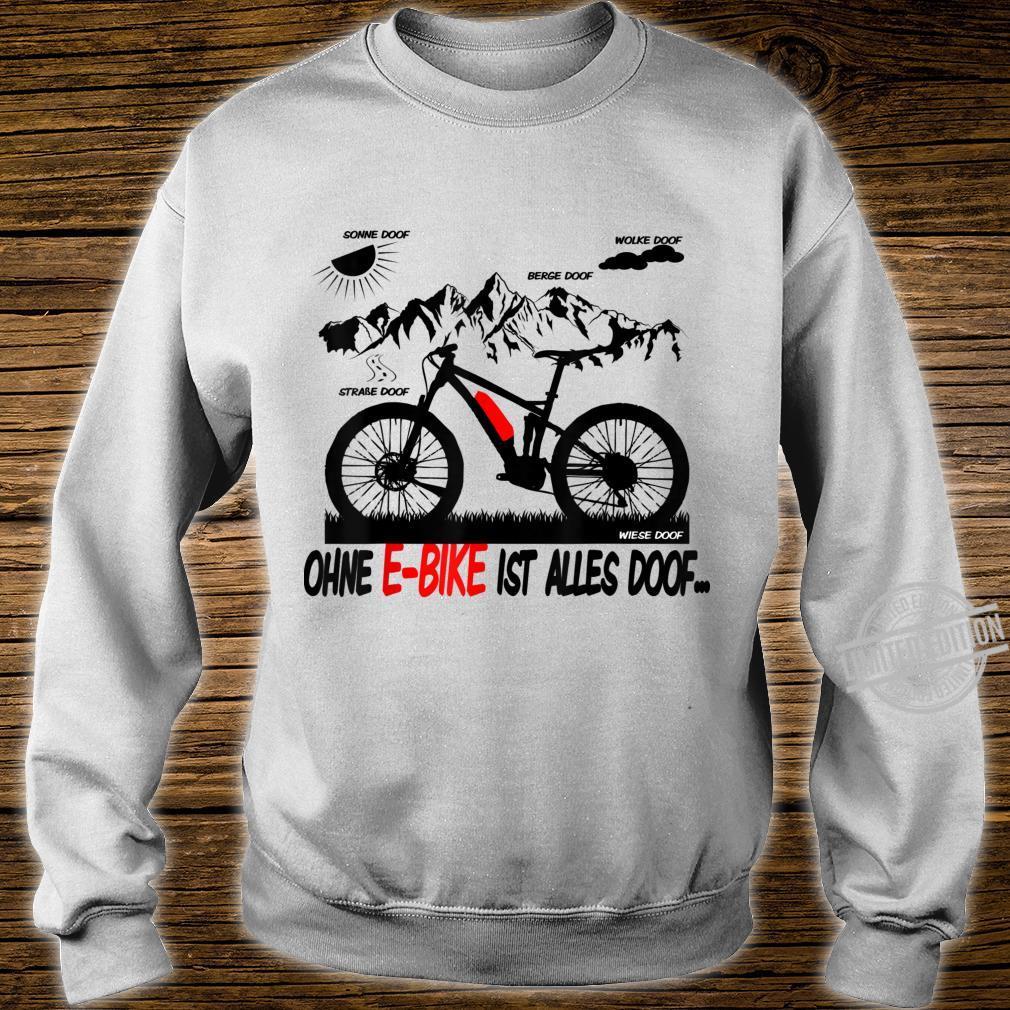 EBike Driver Shirt Ebike Pedelec Electric Bicycle Shirt sweater