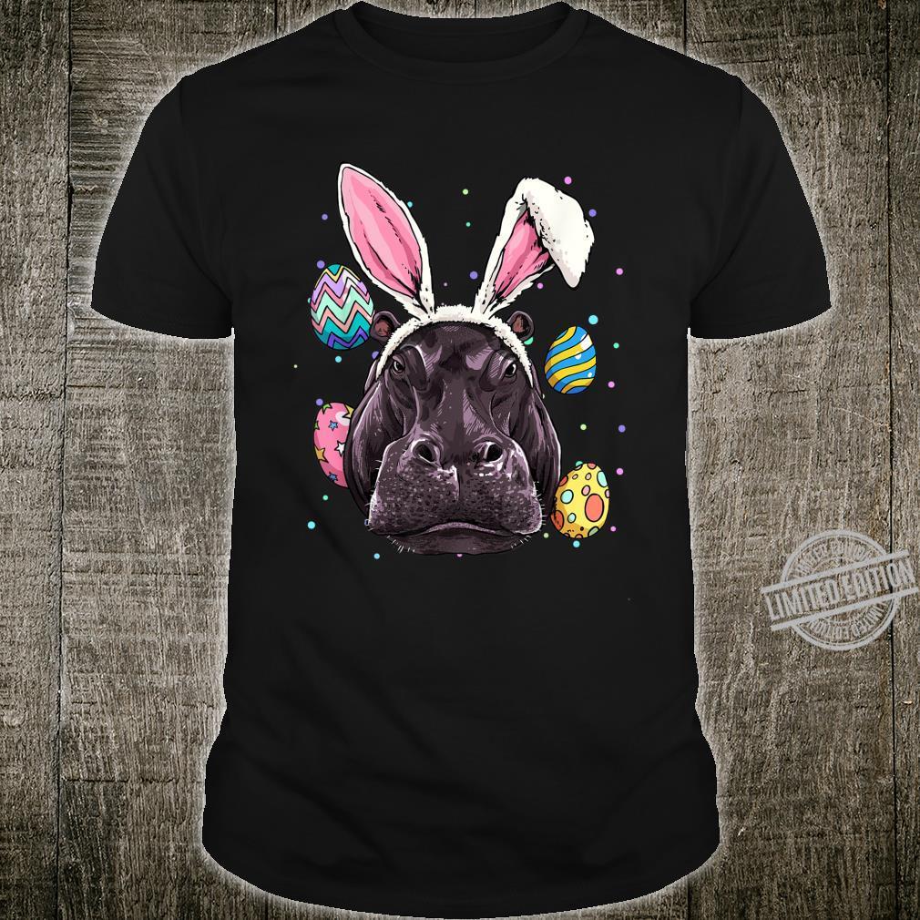 Easter Bunny Hippo Shirt Easter Hippo Shirt