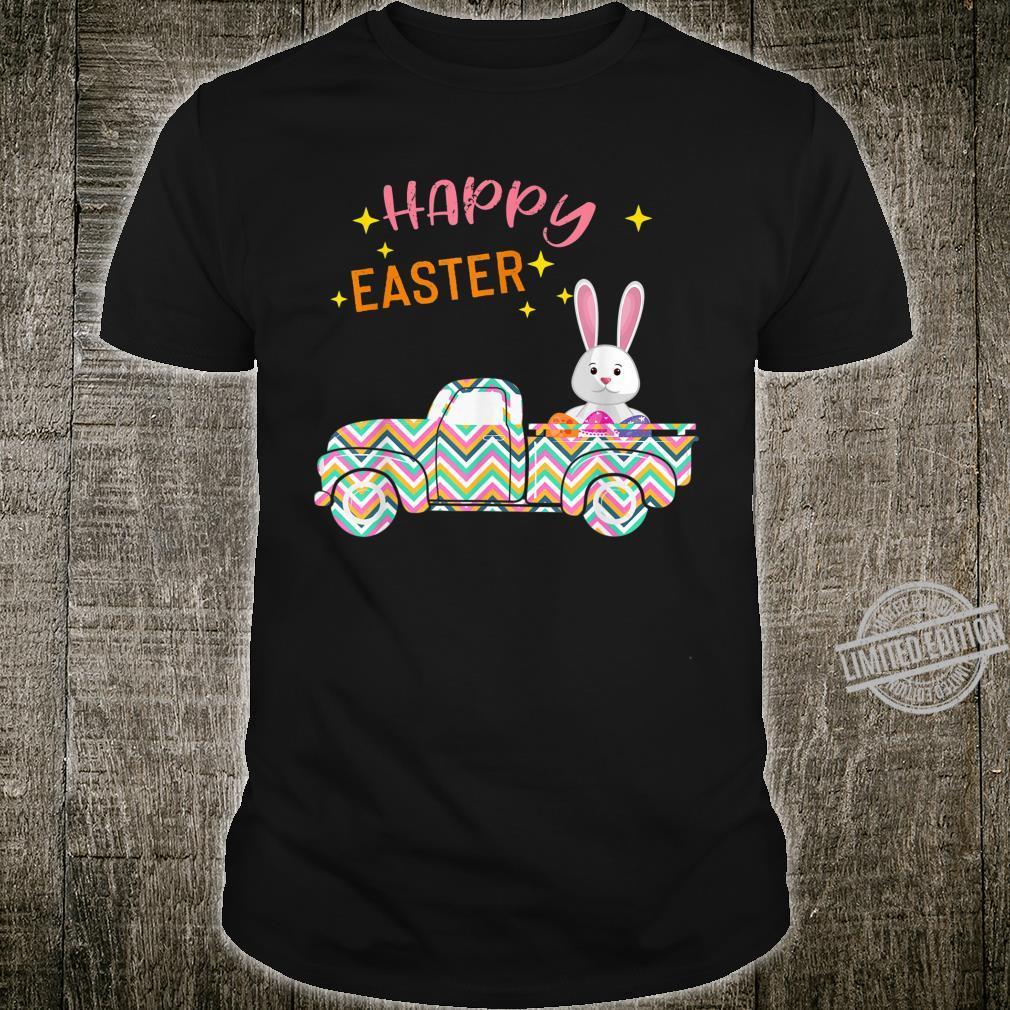 Easter Bunny Truck Costume Egg Hunting Boy Girl Shirt