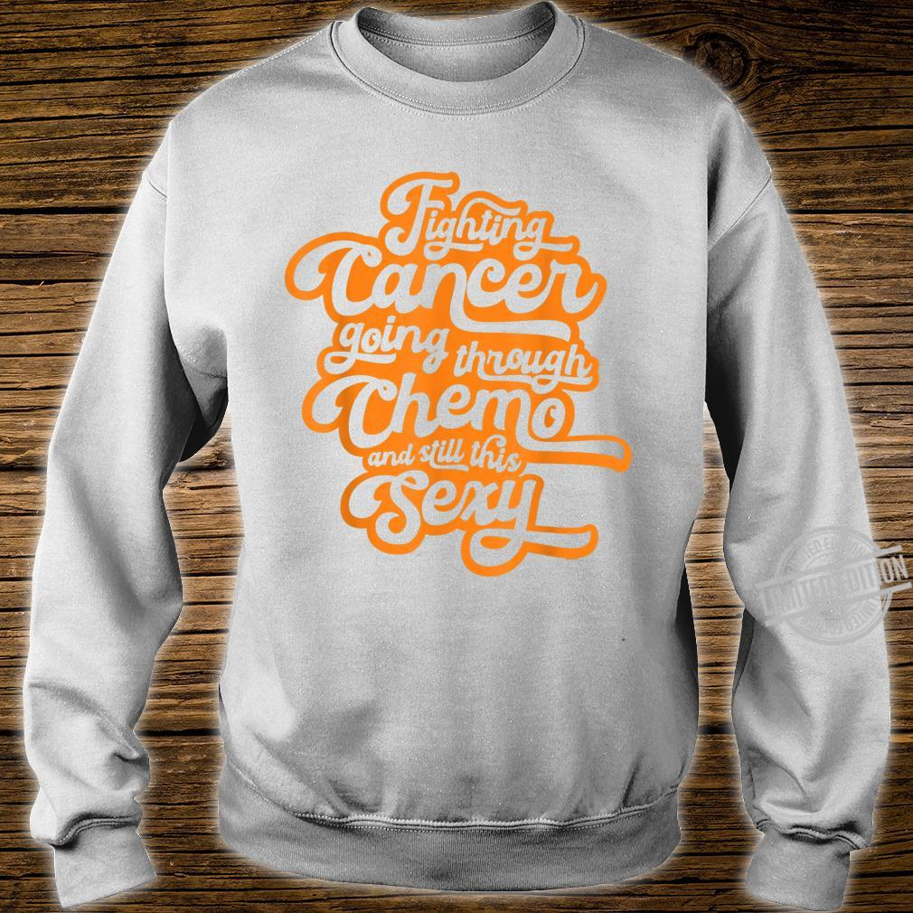 Fighting Cancer Going Through Chemo and Still This Sexy Shirt sweater