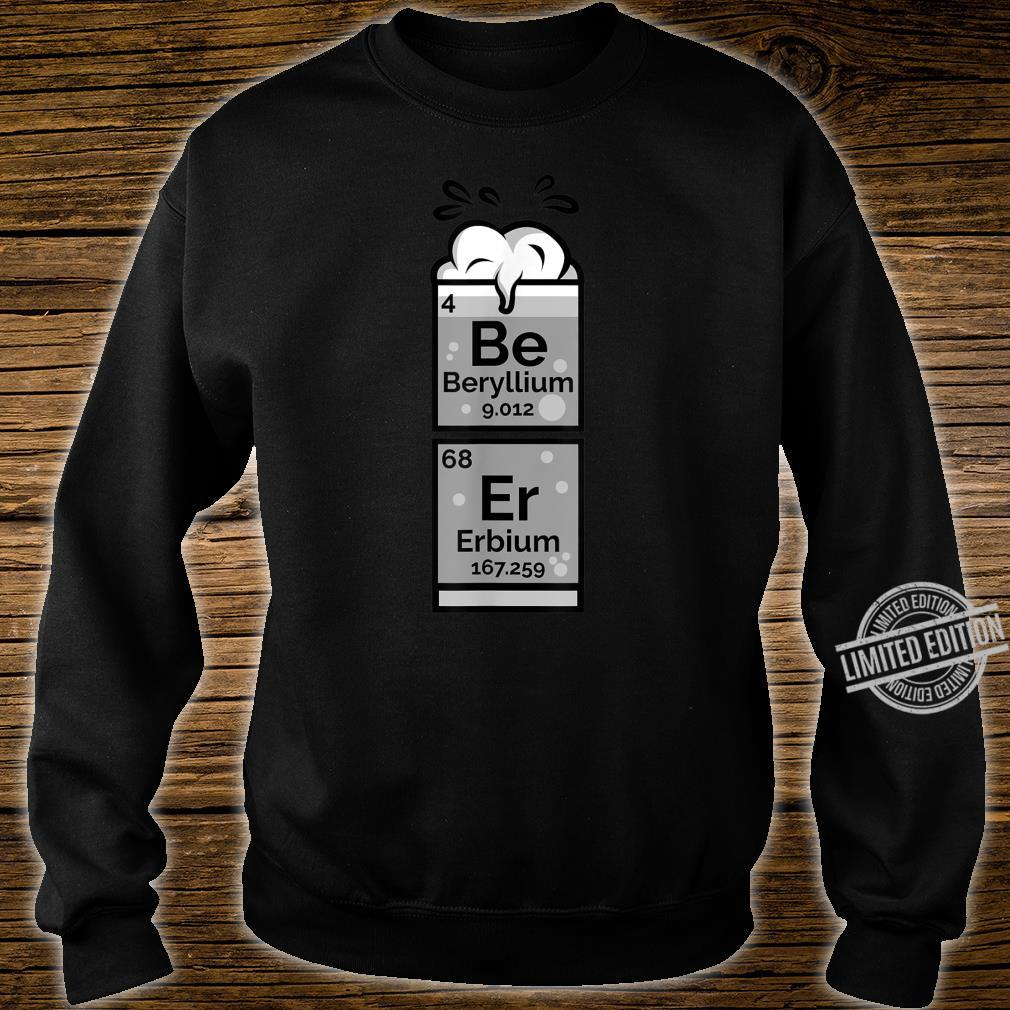 Funny Chemistry Of Beer Periodic Table Nerdy Drinking Shirt sweater