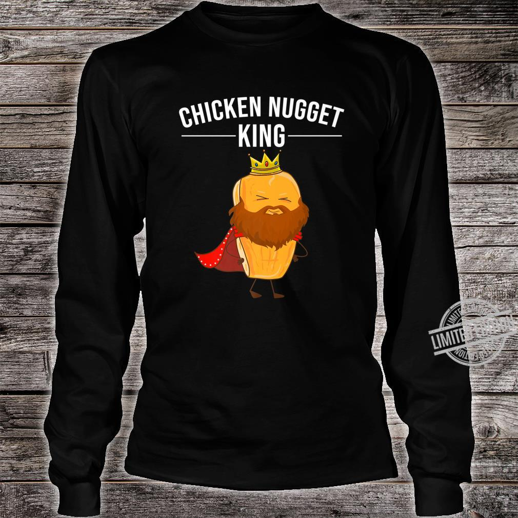 Funny Chicken Nugget For Cool Chicken Nugget King Shirt long sleeved