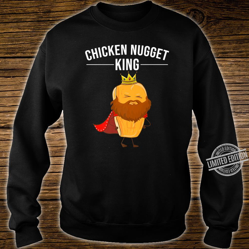 Funny Chicken Nugget For Cool Chicken Nugget King Shirt sweater