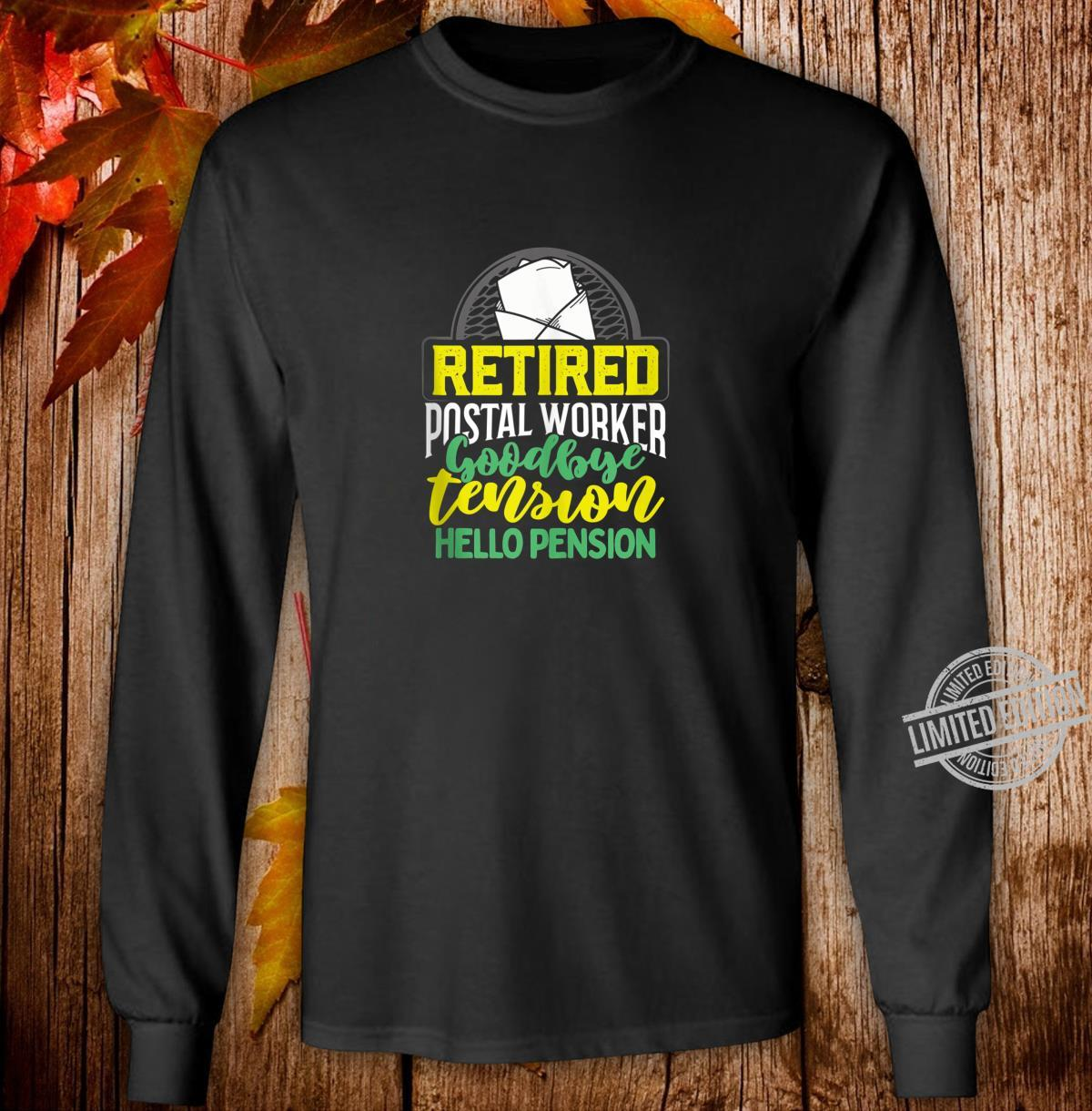 Funny Retirement Mailman Party Retired Postal Worker Shirt