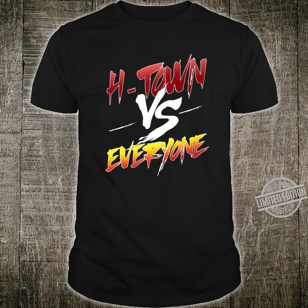Htown vs Everyone Trendy Houston Baseball Shirt
