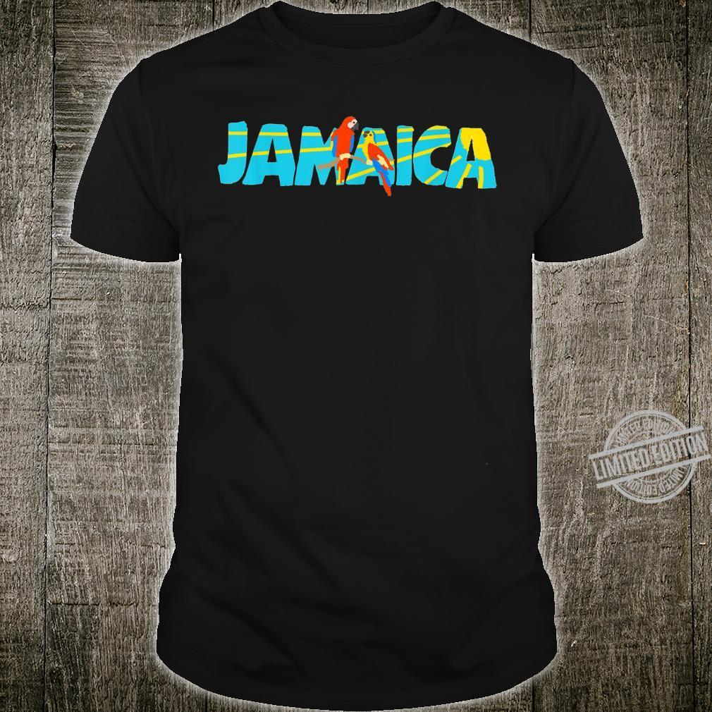 Jamaica Island Parrot Bird Sun Shirt