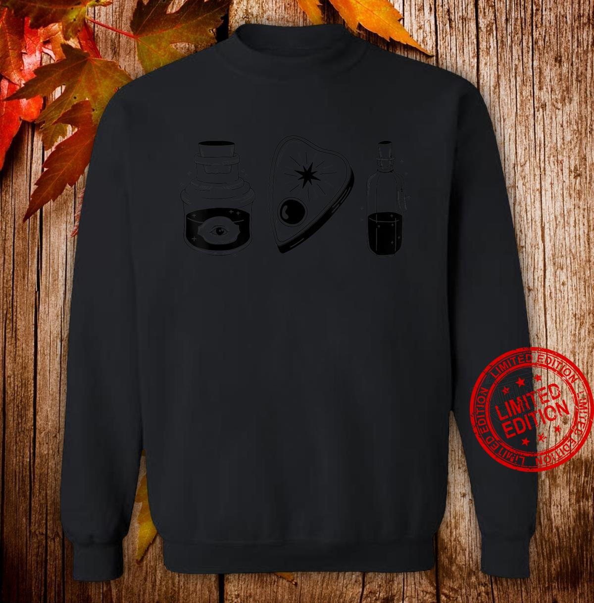Just Occult Object Things Black Shirt sweater