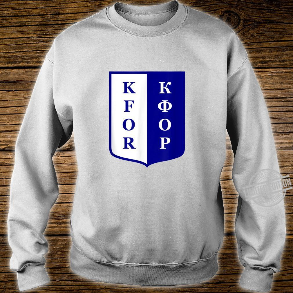 KFOR Kosovo Peacekeeping Veteran Shirt sweater
