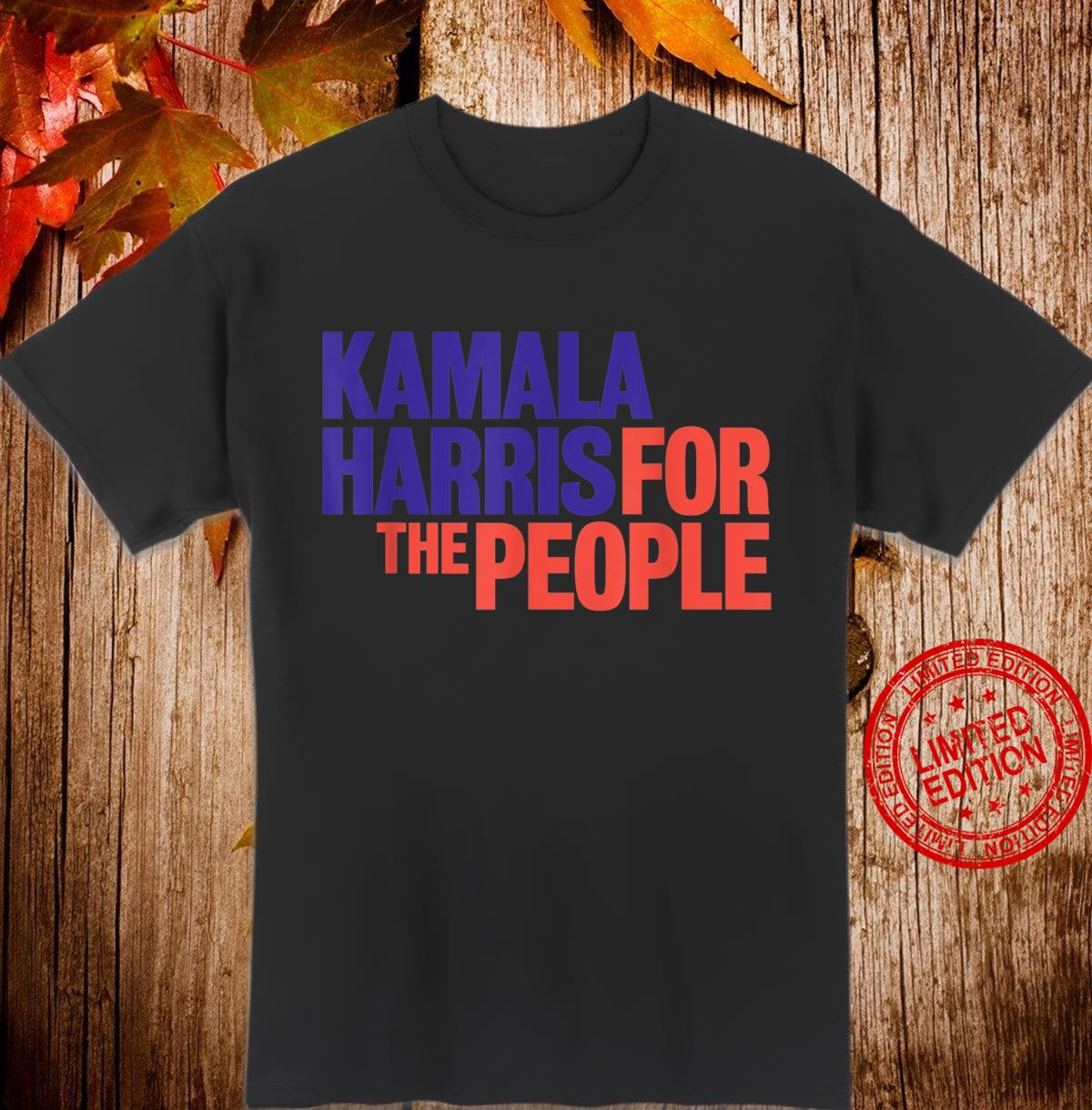 Kamala Harris For The People 2020 Shirt