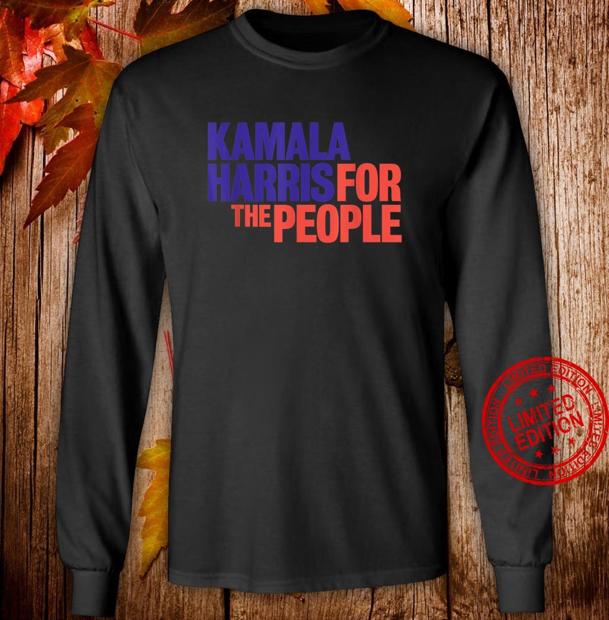 Kamala Harris For The People 2020 Shirt long sleeved
