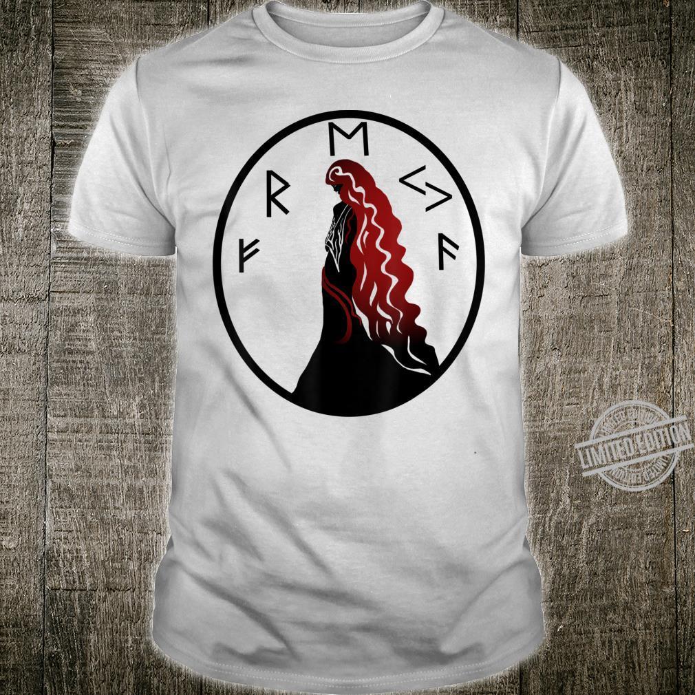 Keltic Fraya Vikinger Runen Liebesgöttin Shirt
