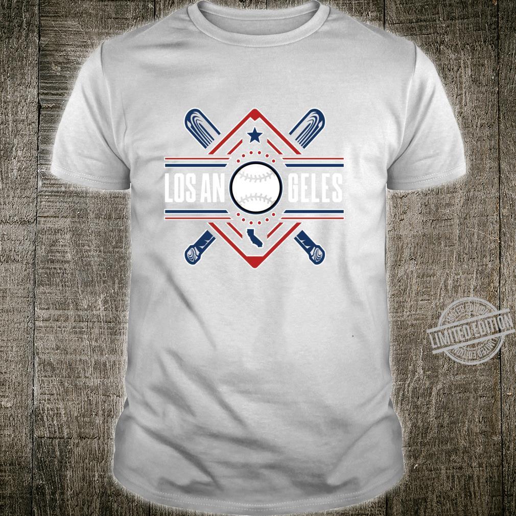 Los Angeles Bats & Field AllStar Home Run Baseball Ballpark Shirt