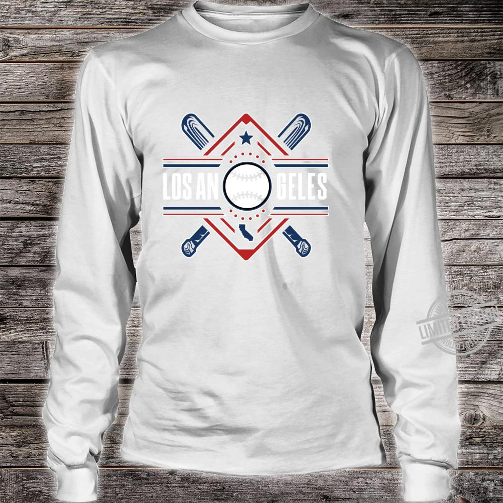 Los Angeles Bats & Field AllStar Home Run Baseball Ballpark Shirt long sleeved