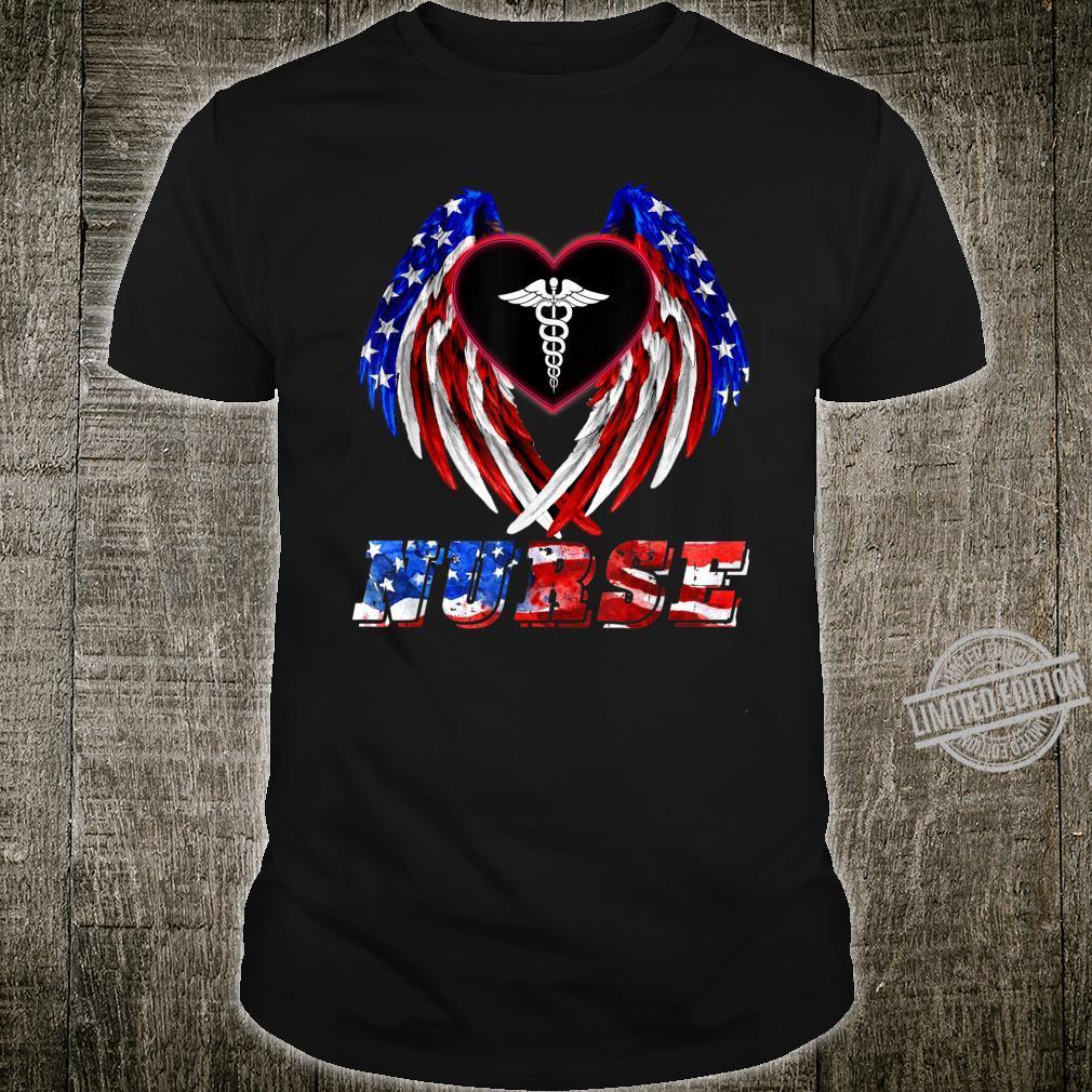 Love American Love Nurse Shirt Shirt