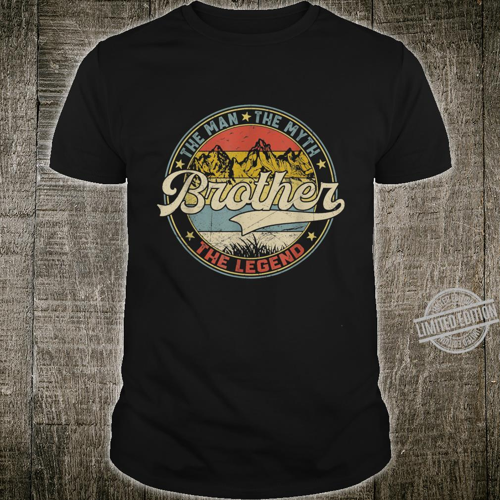 Mens Distressed Brother The Man The Myth The Legend Shirt