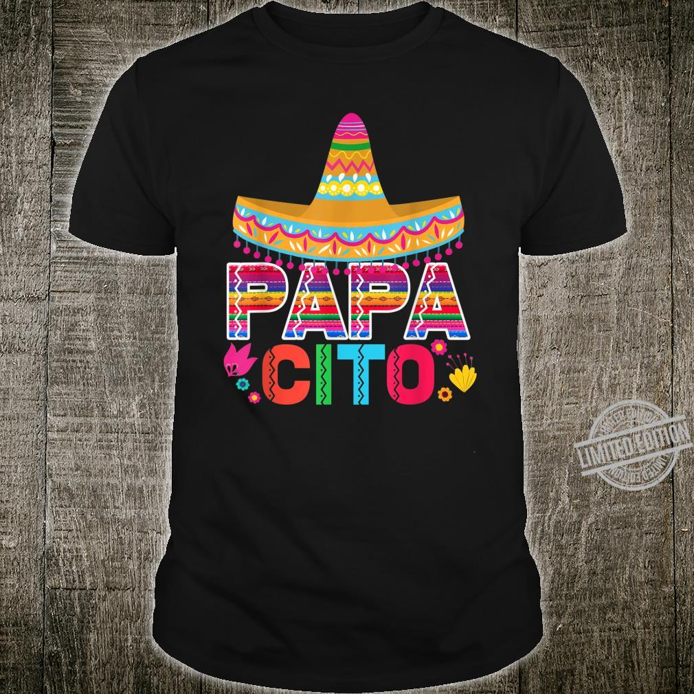 Mens Fathers Day Papacito Dad Shirt