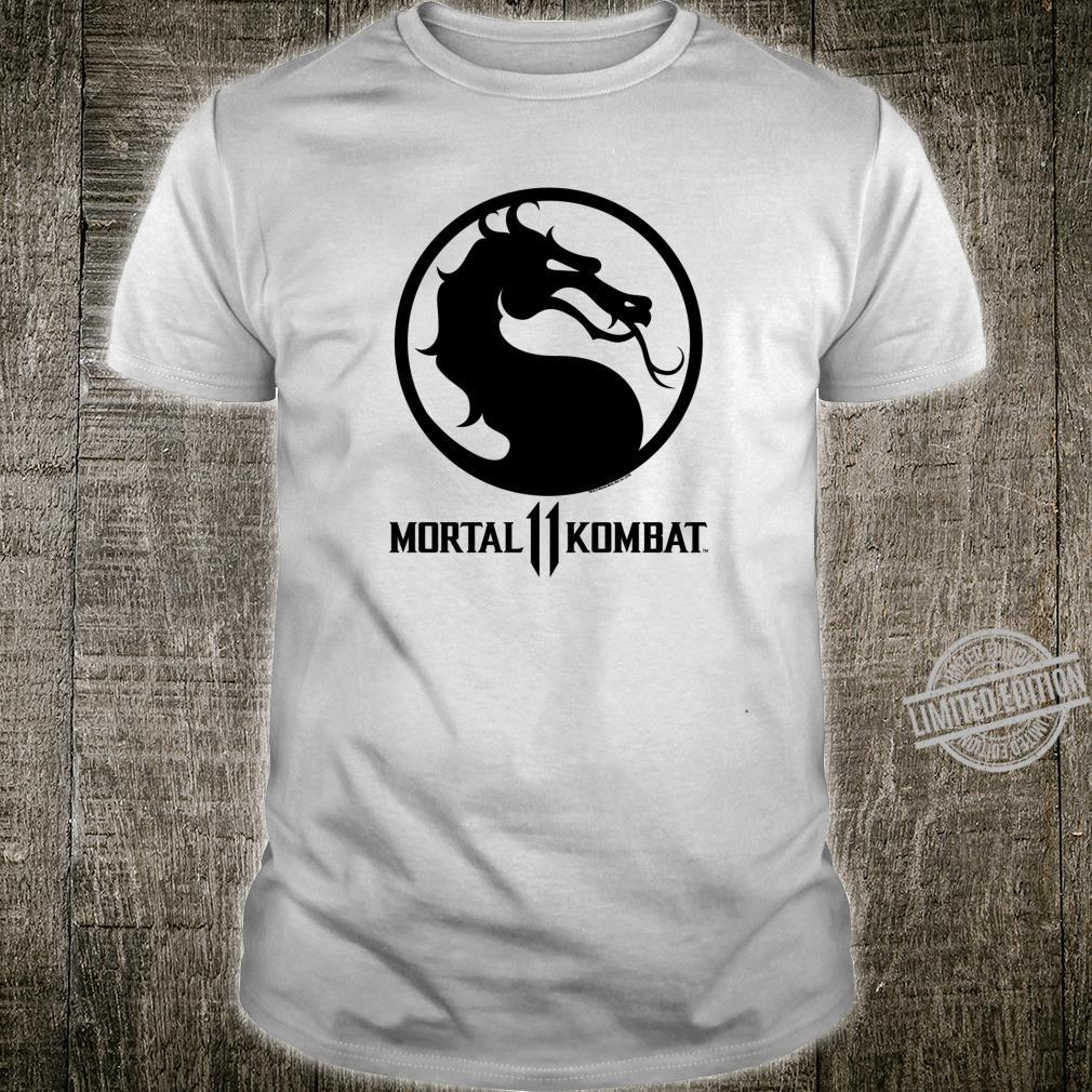 Mortal Kombat 11 Black Dragon Logo Shirt