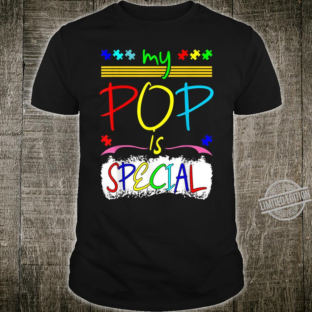 My Pop Is Special April Autism Awareness Shirt