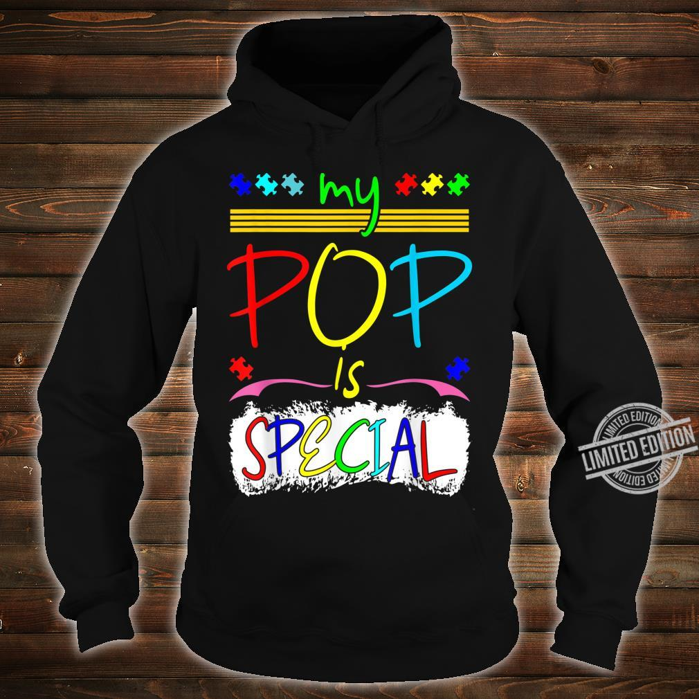 My Pop Is Special April Autism Awareness Shirt hoodie